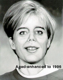 age enhanced photo of Judith E. O'Donnell 1996