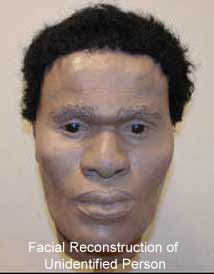 Facial Reconstruction of Unidentified Person
