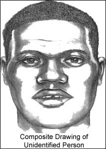 Composite Drawing of Unidentified Person