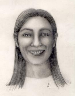 drawing of unidentified person